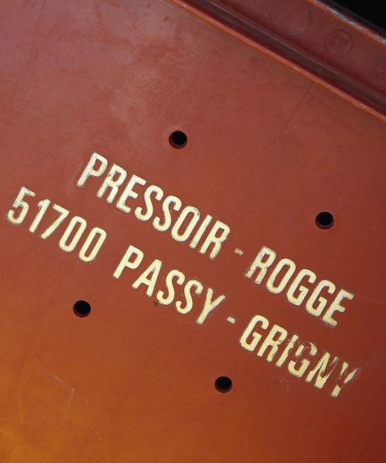 Champagne Rogge Cereser - Caisse de raisin